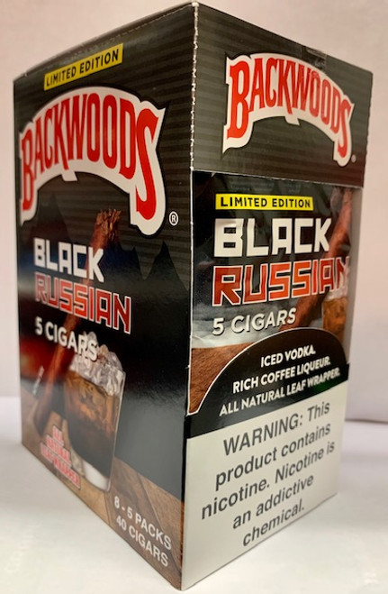 Backwoods Black Russian Cigars 8/5Ct