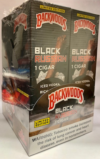 Backwoods Black Russian Cigars 24ct