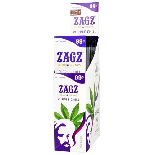 Zags Hemp Wraps Purple Chill