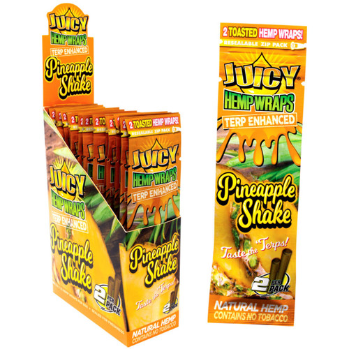 Juicy Hemp Wraps Terp Enhanced 25/2