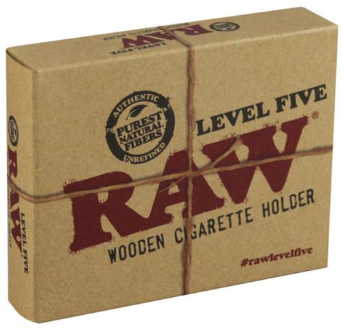 Raw Level 5 Wooden Cigarette Holder - 4