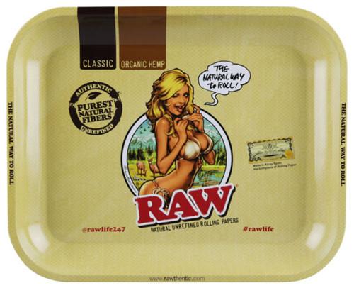 RAW Rolling Tray - Bikini Woman Design