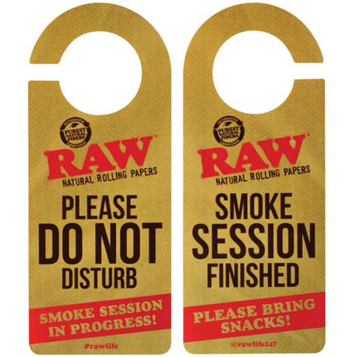 "Raw Door Hanger - 8""x3"""