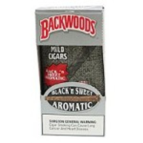 Backwoods Black N Sweet Aromatic Cigars 8/5Ct