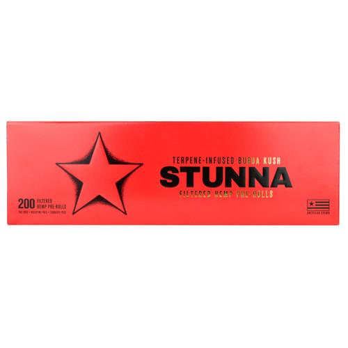 Stunna Bubba Kush Terpene-Infused Hemp Pre-Rolls