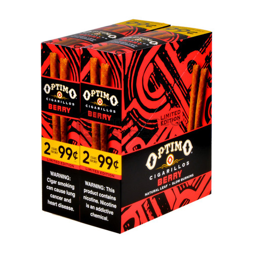Optimo Cigarillos Foil Pack Berry