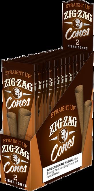 Zig Zag Pre-Roll Cones Wraps 2Ct/15Ct
