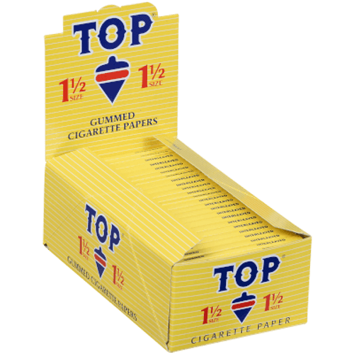 TOP Fine Gummed Cigarette Papers  1 1/2 24Ct