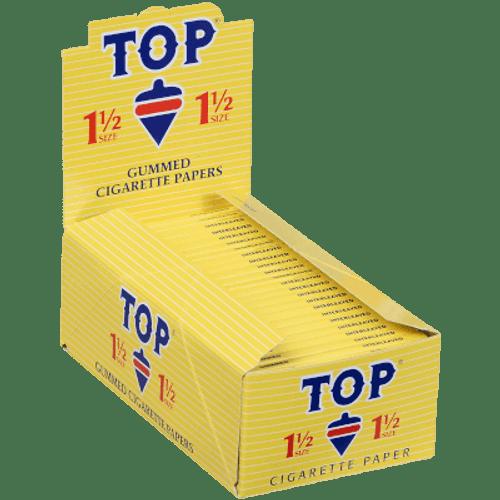 TOP Fine Gummed Cigarette Papers  1 1/2 24Ct