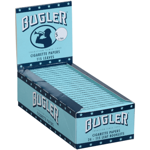 Bugler Cigarette Rolling Papers 24Ct/115