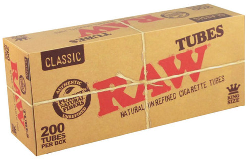RAW Classic Cigarette Tubes King Size 200Ct