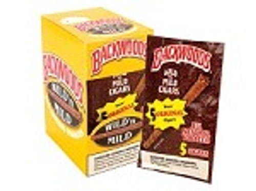 Backwoods Original Wild N' Mild Cigars 8/5Ct