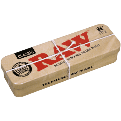 RAW Classic King Size Tins Caddy