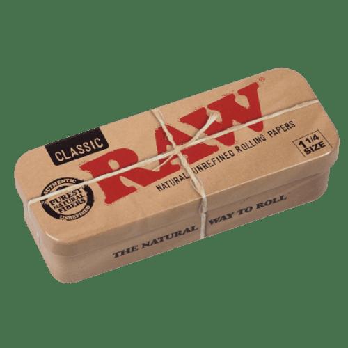 RAW Classic 1 1/4 Tins Caddy