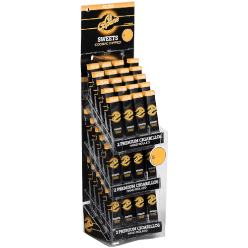 Al Capone Sweets  Cognac Filter Cigarillos Tower 60/2