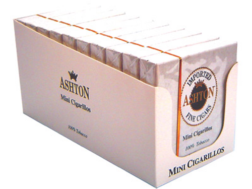Ashton Mini Cigarillos 10 Packs of 20