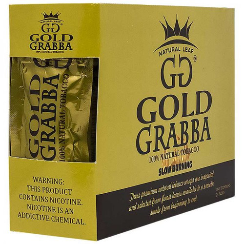 GG Gold Grabba Cigar Leaf 25Ct