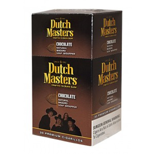 Dutch Masters Cigarillos Chocolate Box