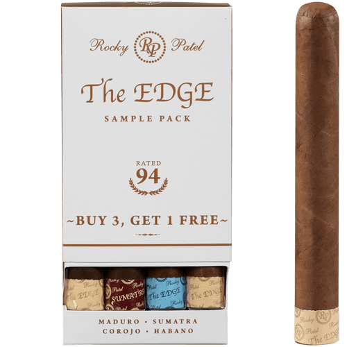 Rocky Patel The Edge Toro B3G1 4 Ct. Sampler 6.00X52