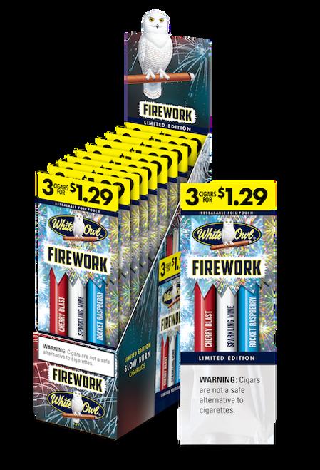White Owl Cigarillos Firework Sampler 15/3