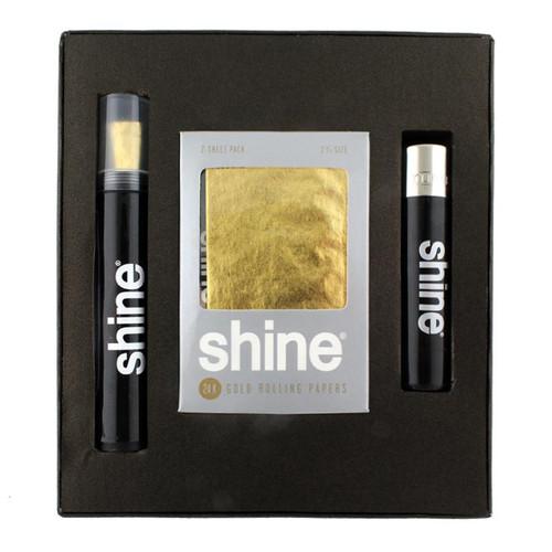 Shine 24K Gold Rolling Paper Gift Box