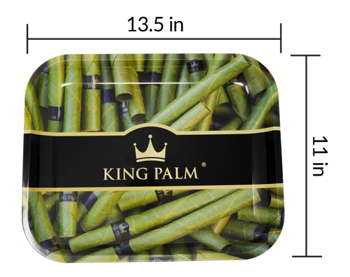 King Palm Rolling Tray large- Royal