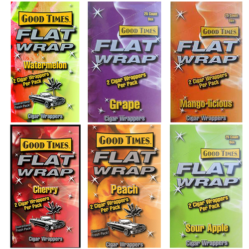 Good Times Flat Wraps all Flavors
