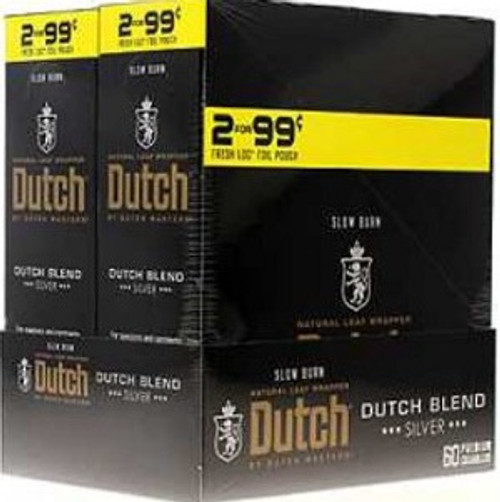 Dutch Masters Cigarillos Foil Dutch Blend 30 Pouches of 2