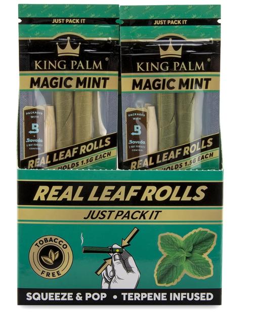King Palm Wraps Slim Magic Mint 20Ct/2