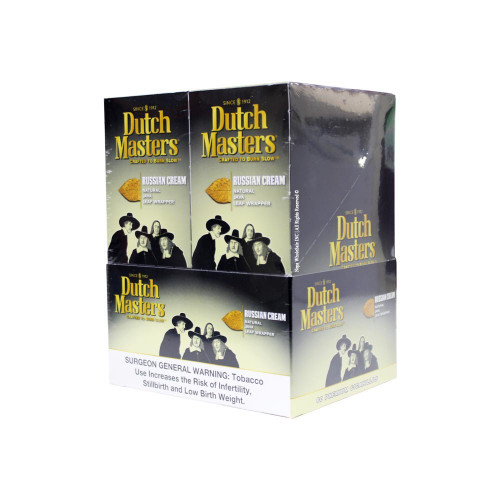 Dutch Masters Cigarillos Russian Cream Foil 20/3