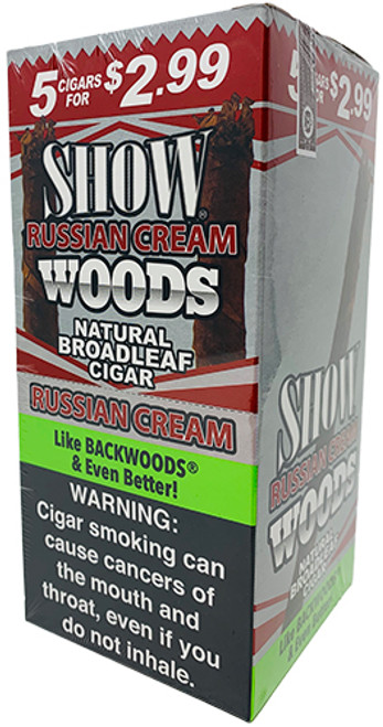 Show Woods Natural Leaf Cigars 8/5