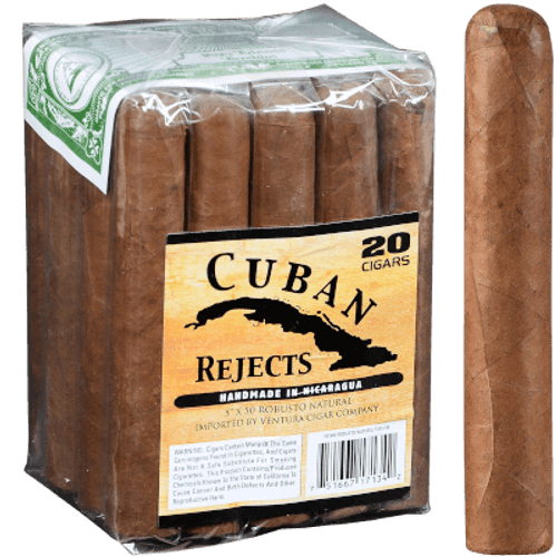 Cuban Rejects Robusto Natural 20Ct