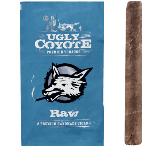 Ugly Coyote Cigars Raw Un-Sweet 5/8 Packs