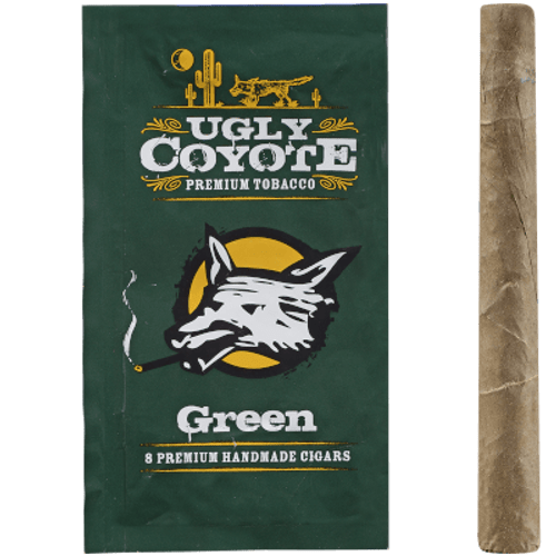 Ugly Coyote Cigars Green Sweet 5/8 Packs