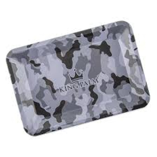 King Palm Rolling Tray Small Camo