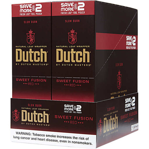 Dutch Masters Cigarillos Foil Sweet fusion 30 Pouches of 2