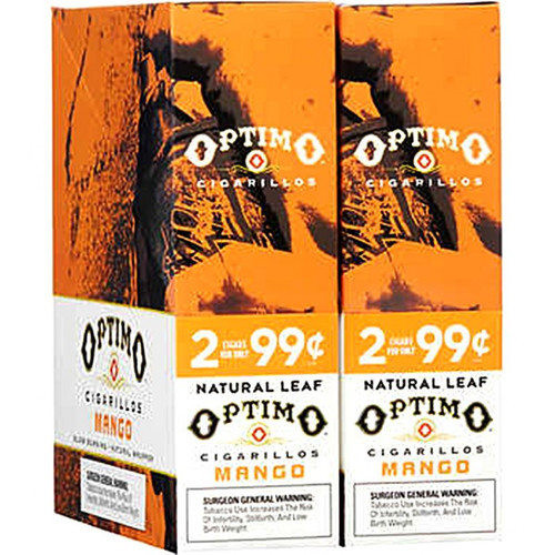 Optimo Cigarillos Foil Pack Mango