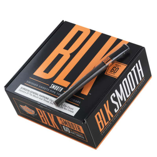 Swisher Sweets BLK Cigars Smooth 60Ct