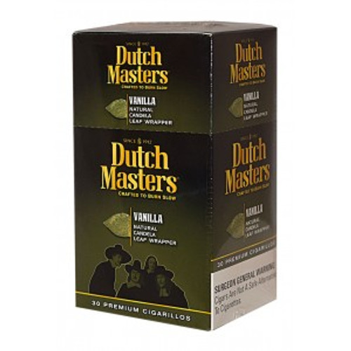 Dutch Masters Cigarillos Vanilla Box