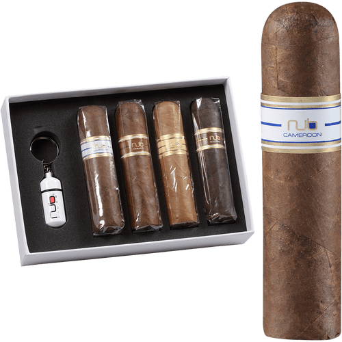 Nub Variety Cigar Sampler With Cutter 4ct