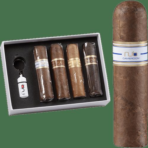 Nub Variety Cigar Sampler With Cutter 4ct