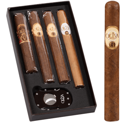 Oliva Sampler With Cutter 4 ct. Box