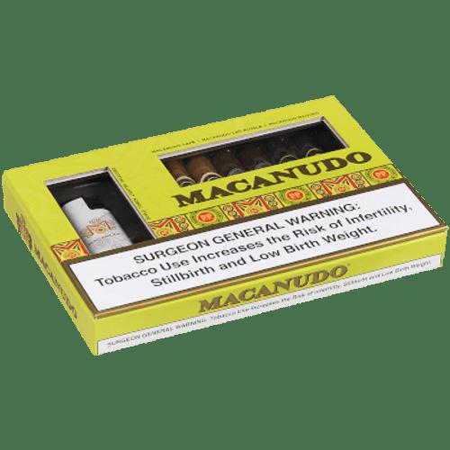 Macanudo Collection Cigar Sampler W/lighter 6 Ct.