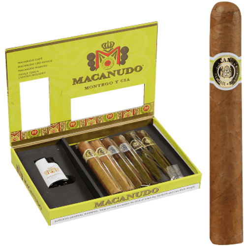 Macanudo Collection Cigar Sampler W/lighter 6 Ct.