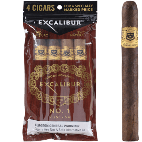 Hoyo Excalibur No. 1 4 Ct. Cigar Sampler 7.25X54