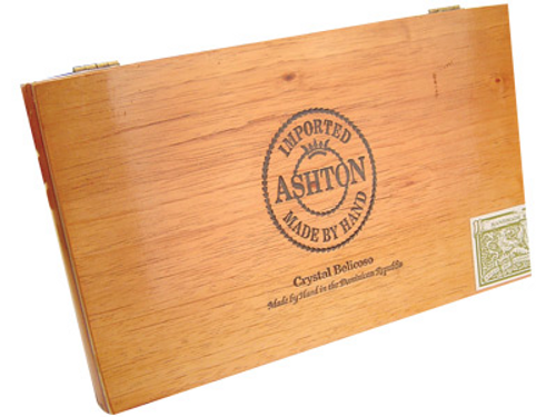 Ashton Crystal Belicoso Cigar Sampler 10 Ct. Box 6.00X49