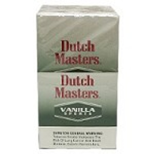 Dutch Masters Cigarillos Vanilla Sport Box