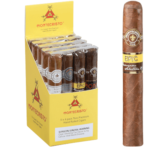 Montecristo Cube Cigar Sampler 5/4 20 Ct. Pack