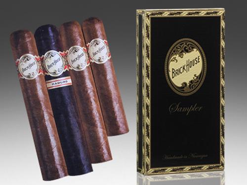 Brick House Mighty Mighty Cigar Sampler 4 Ct Box