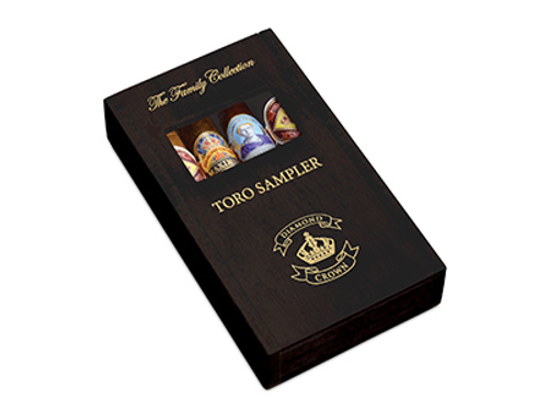 Diamond Crown Family Collection Toro Cigar Sampler 4 Ct. Box